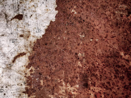 corroded: Old metal iron rust texture background