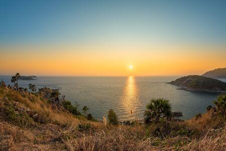 phrom: Laem Phrom Thep at sunset Phuket Thailand