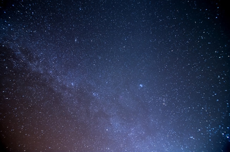 star night: milky way galaxy