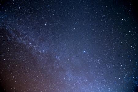 estrella: Via Láctea Foto de archivo