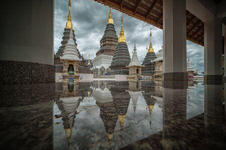 province: Wat ban den temple Chiang mai province Thailand