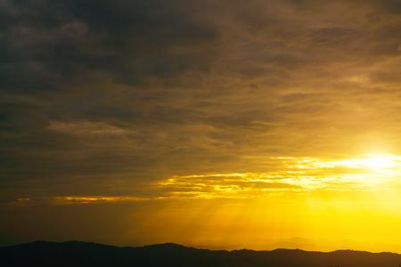 golden: Golden sky