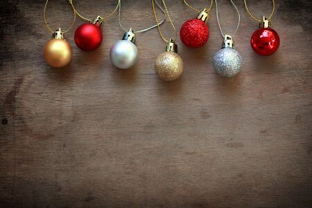 chirstmas: Chirstmas decoration wooden background