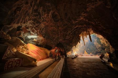 Buddha in Khao Luang Cave PHETCH BURI