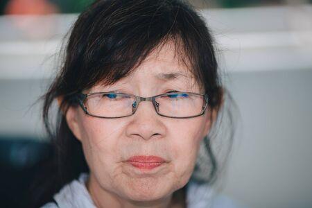 Portrait of Asian senior women
