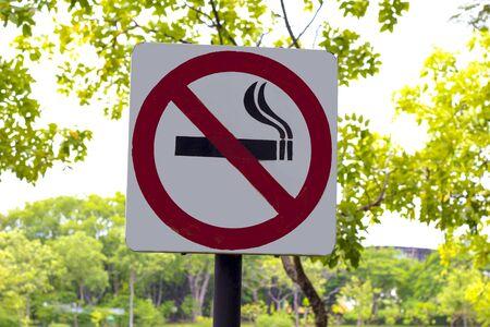 excluded: no smoking,sign,warning symbol Stock Photo
