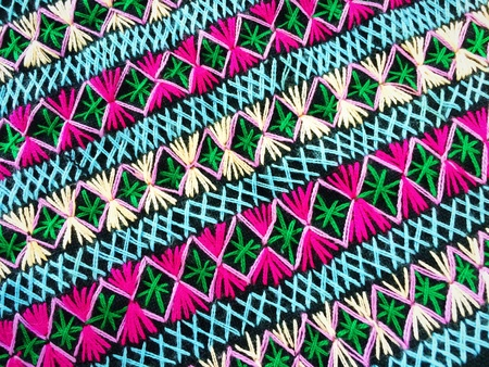 cloth: Closeup on colorful clothes from Thailand