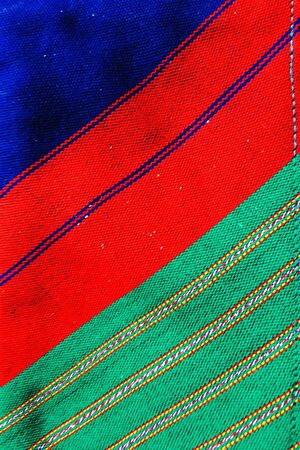 clothes: Closeup on colorful clothes from Thailand