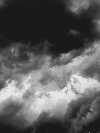 dark: Dark blue storm clouds