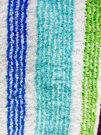 industrial: Colorful fabric, decoratiion, clothes Stock Photo