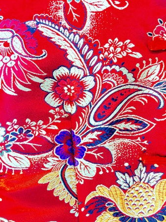 industry: Colorful fabric, decoratiion, clothes, garment.