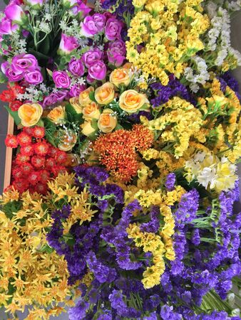 Colorfully flowers