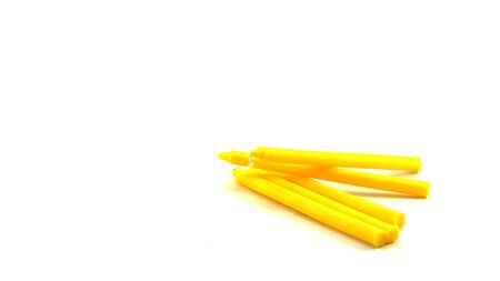 budda: A pile of yellow candel