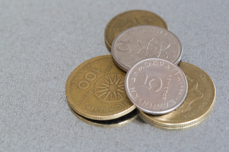 greek currency: Coins of the former greek currency drachma