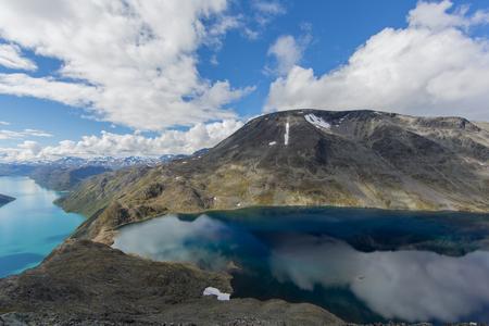 Beseggen ridge in norway Stock Photo