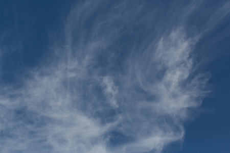 cirrus: Cirrus cloud with blue sky on windy day