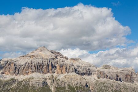 Piz Boe mountain of Sella Imagens