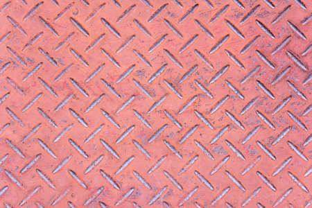 diamondplate: Brown rusty metallic background texture