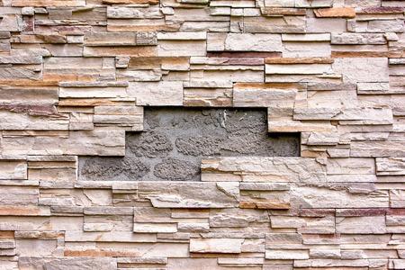 damaged: Damaged brick wall background texture
