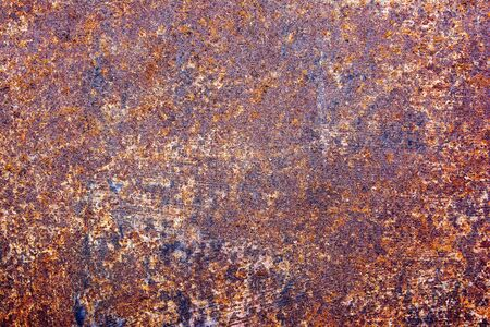 zinc: Weathered rust and scratched steel high contrast texture background.Rusty zinc background
