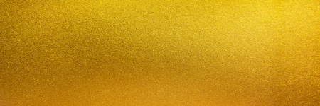 金の金属のテクスチャ背景。ゴールド パノラマ テクスチャ