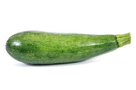 Zucchini isolated on white background.Zucchini plant isolated