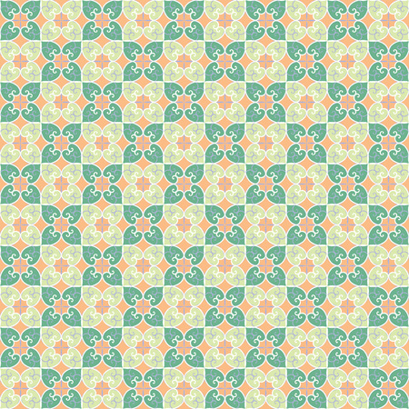 persimmon: seamless pattern inspired from Persimmon Illustration