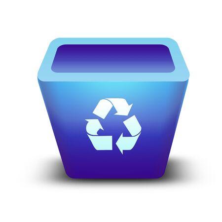 recycle bin Stock Photo - 9652704