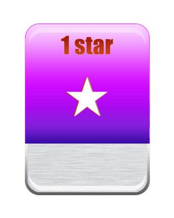Five stars ratings Stock Photo - 9652586