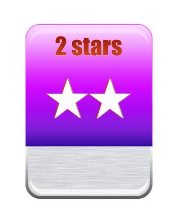 Five stars ratings Stock Photo - 9652590