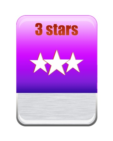 Five stars ratings  Stock Photo - 9652591