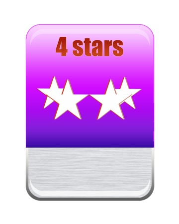 Five stars ratings  Stock Photo - 9652597