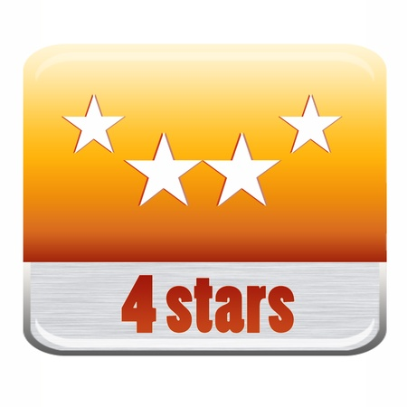Five stars ratings Stock Photo - 9652623