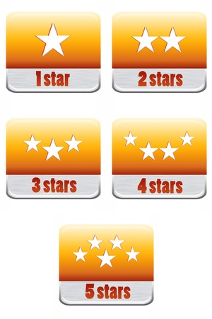 star rating: Five stars ratings Collection