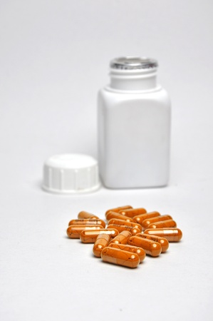Drugs used for treatment Stock Photo
