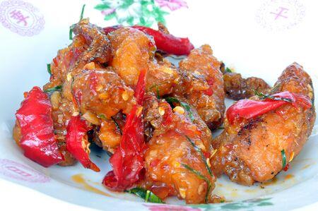 Thai food ,Fish fry photo