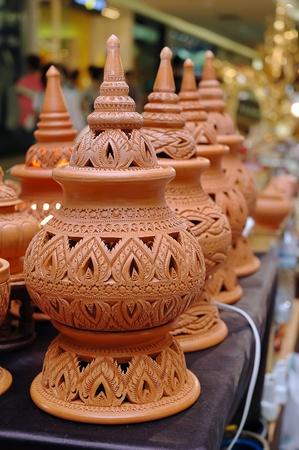 ollas barro: Jar hecho de arcilla