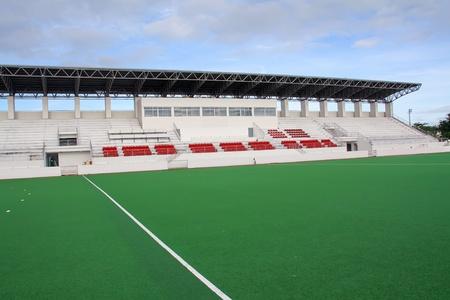 bleachers: A stadium showing big ground