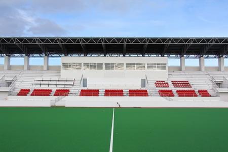 A stadium showing big ground photo
