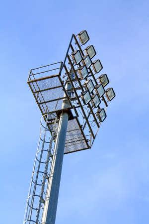 Stadium lights photo