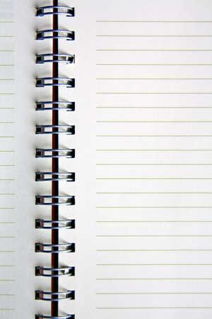 Blank NoteBook open Stock Photo - 9845112