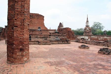 City of Ayutthaya in thailand  photo