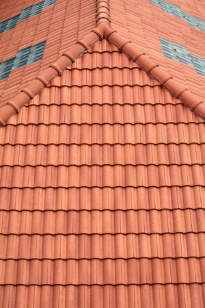 Roof Tile Pattern Stock Photo - 9975308