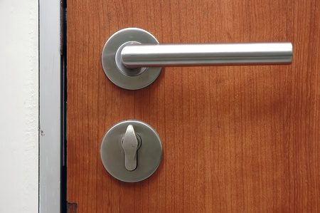 door handle: Keyhole gate