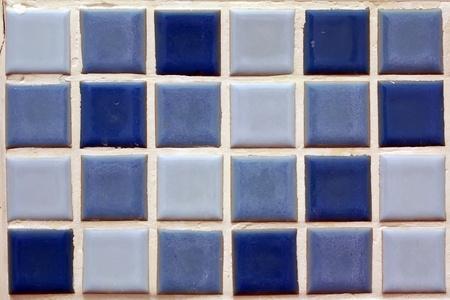 Motif carreaux de la salle de bain