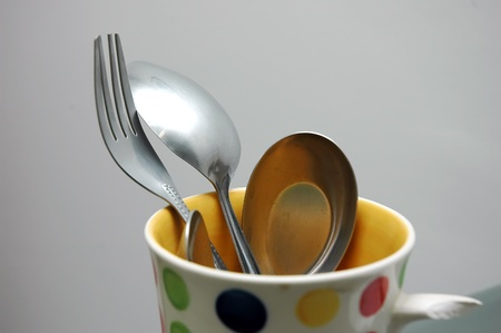 Spoon in a glass photo
