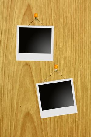 billboard and Polaroid Stock Photo - 10092573