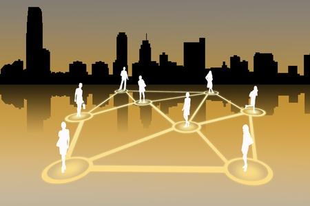 red social de personas
