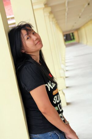Portrait of Thai women  photo