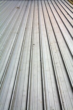 Background roof made of steel photo